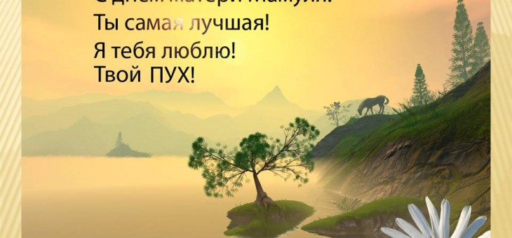Декада, посвящённая празднику «День матери».