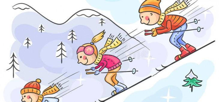 «Даёшь лыжи, даёшь санки».