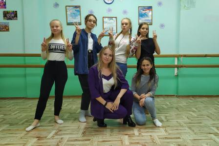 «День рождение хореографического коллектива «Без границ»»